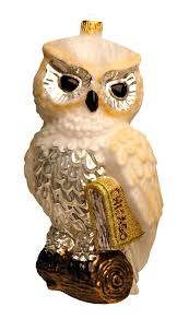 white owl ornament ornaments ozdoby