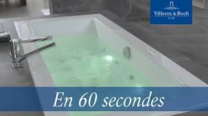 Baignoire Quaryl Villeroy Et Boch En 60 Secondes Systémes Balnéo 2 0 Villeroy U0026 Boch Youtube