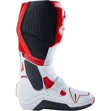 fox boots motocross 2018 fox racing instinct boots white red sixstar racing