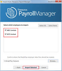 thesaurus confirmation importing from thesaurus payroll manager 2017 brightpay documentation
