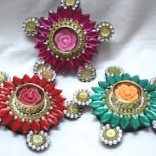 Decoration Things For Home Beautiful Matki Decoration Ideas For Pooja Crafts Pinterest