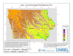 Iowa vegetaion images Windexchange iowa 30 meter residential scale wind resource map jpg