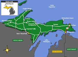 peninsula michigan map vacation rental peninsula michigan book