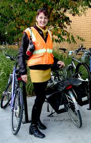 reflective bike jacket grocery shopping by bicycle orange reflective bike vest