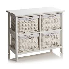 Wilko Garden Furniture 4 Drawer Split Wood Storage Unit Wood Storage Drawers And Storage