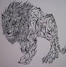 lion tattoo by trumsoll on deviantart