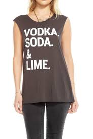 vodka soda chaser vodka soda lime tee from miami by allie u0026 chica u2014 shoptiques