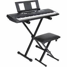Keyboard Stand And Bench Yamaha Keyboard Stand And Bench Bundle