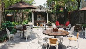 Savannah Outdoor Furniture by Best Outdoor Dining Spots In Savannah Savannah Ga Savannah Com