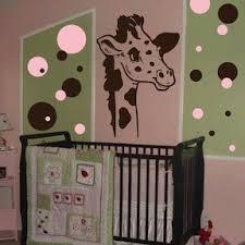Giraffe Wall Decals For Nursery Nursery Room Giraffe Wall Decal From Trendy Wall Designs