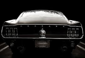 1968 mustang rear end mustang fastback rear end one of the most beautifully designed