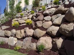 Garden Wall Retaining Blocks by Landscaping Etaining Walls Retaining Wall Companies Boulder