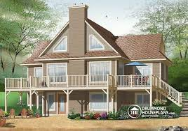 house plans with rear view house plan w3958 detail from drummondhouseplans com