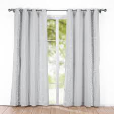 Sheer Grommet Curtains Chiverton Striped Semi Sheer Grommet Curtain Panels U0026 Reviews