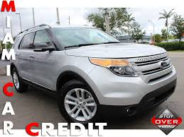 suv ford explorer used ford explorer at miami car credit llc serving miami gardens fl