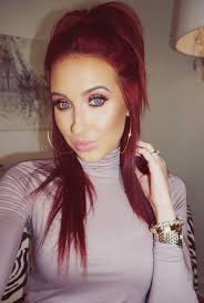 how chelsea houska dyed her hair so red jaclyn hill more makeup pinterest makeup hair coloring and
