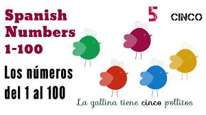 how to write u0026 say the numbers in spanish 1 100 los números en