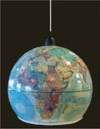 Globe Ceiling Light Make A Pendant Light Out Of An Outdated World Globe