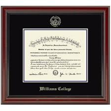 college diploma frame official williams college diploma frame the fidelitas graduation