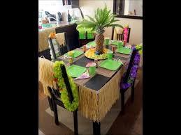 home decor hawaiian luau party ideas youtube