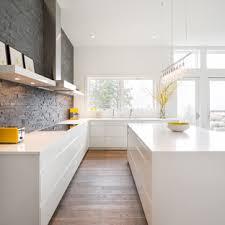kitchen backsplash ideas with white cabinets houzz 75 beautiful kitchen with white cabinets and slate