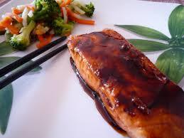 cuisine japonaise recette facile saumon teriyaki l effet chocolat
