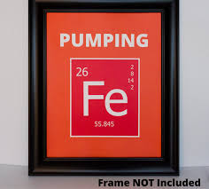 periodic table framed art pumping iron fe periodic table of elements wall art print ap 100