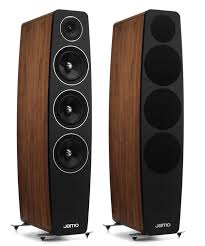 jamo 5 1 home theater system jamo c 109 pair walnut 3 way tower speakers 3 u0027500 00 u20ac hi fi