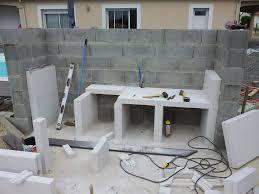 realiser une cuisine en siporex cuisine construire une cuisine en beton cellulaire versailles avec