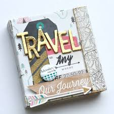 travel photo album hello world 15 travel scrapbooking ideas for the globetrotter