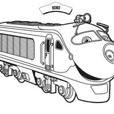 emery from chuggington coloring page emery from chuggington