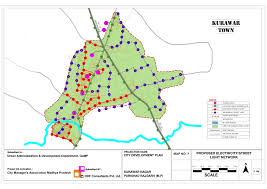 Abhanpur Master Plan 2031 Report Abhanpur Master Plan 2031 Maps by Proposed Electrical Light Network Of Kurawar Lowcosthousing Online