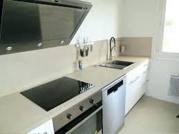 plan de travail cuisine en carrelage plan de travail cuisine effet beton carrelage pour plan de travail