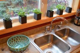 Window Sill Garden Inspiration Indoor Kitchen Herb Garden Get Busy Gardening