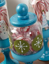 christmas craft apothecary candy jars diycandy com