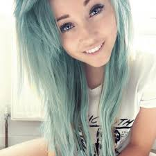 hair color for over 40 with blie eyes 40 chicks with cool mint dyed hair 1