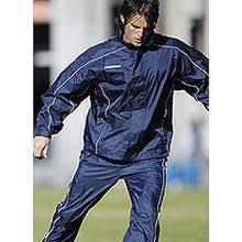 Football Bench Jackets Prostar Vortex Bench Coat Black Scarlet White Junior Padded