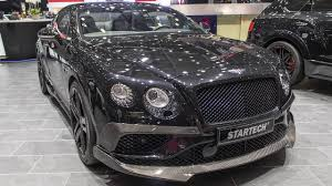 Startech Bentley Continental Gt Speed Geneva Motor Show 2017 Hq