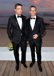 robert pattinson and guy pearce at the rover cocktail party guy