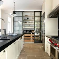 Kitchen Cabinet With Sliding Doors Pantry Cabinet Sliding Door Conceal The Contents Of A Kitchen