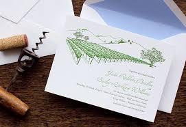 vineyard wedding invitations letterpress wedding invitation sample vineyard california