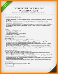 Delivery Driver Resume Example by 7 Truck Driver Resume Examples Doctors Signature