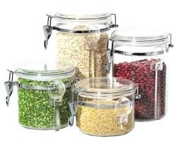 glass kitchen storage canisters clear kitchen canisters glass kitchen canisters clear kitchen