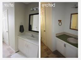 Painting Bathroom Ideas Awesome Painting Bathroom Tile Before And After Bathroom Ideas