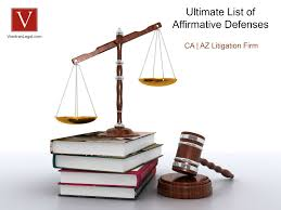 affirmative defense checklist vondran legal