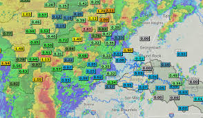 Weather Map Austin by Austin Area Reacts To Severe Thunderstorm Sunday Community