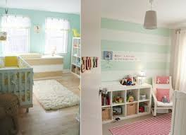 chambre fille vert design interieur chambre bébé garçon fille vert pastel blanc