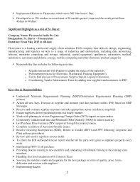 procurement resume procurement resume sle free senior engineer 2 inssite