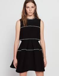 black dress uk dresses woman sandro
