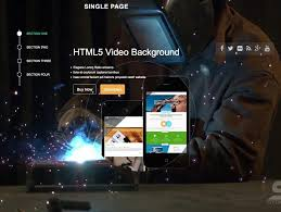 wp themes video background 15 best free one page wordpress themes 2018 themegrill